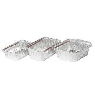 446 - Medium Rectangular Foil Container - 30oz