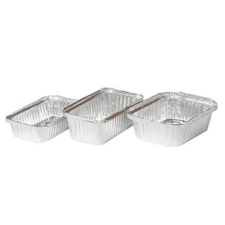 460 - Large Rectangular Foil Container - 2430ml