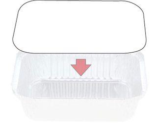 Foil Board Lids to suit C/away 448 cont.