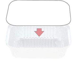 Foil Board Lids to suit C/away 448 cont.