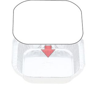 Foil Board Lids to suit Confoil 7313 - 7113/73LB (320)