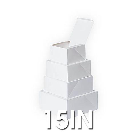 Cake Boxes -15x15x4In - 500um