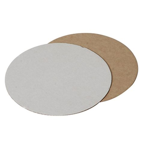 Cake Circles - 8In White - Corrugated