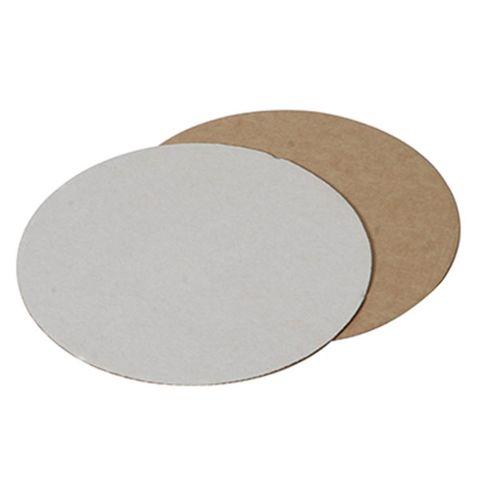 Cake Circles - 9In White - Corrugated