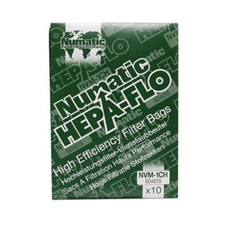 Numatic Filter Bags - NVM1CH (James, Henry & Rucsac)