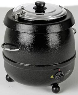 Birko Soup Kettle - Black - 9Lt - 1030601