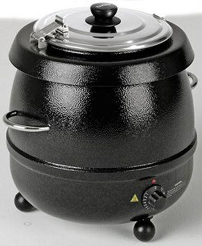 Birko Soup Kettle - Black - 9Lt - 1030601