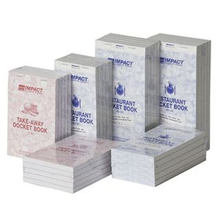 RD302 Impact Triplicate Restaurant Docket Books - 83x165