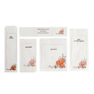 Floral Glass Bags