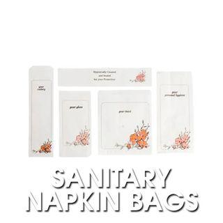 Floral Sanitary Napkin Bags