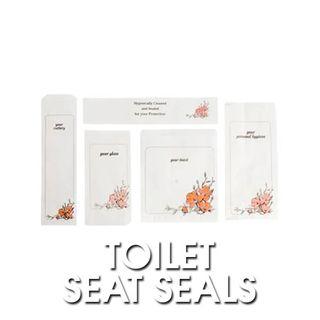 Floral Toilet Seat Seals