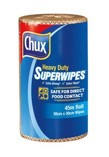 Chux 9305 H/D Perforated Roll - ESPRESSO - 45mtr