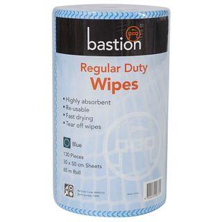 Bastion Blue Regular Duty Wipes - 45m
