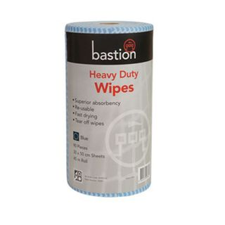 Bastion Blue Heavy Duty Wipes - 45m