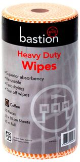 Bastion Espresso Heavy Duty Wipes - 45m