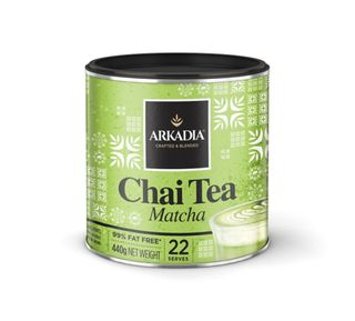 Arkadia Matcha Green Tea Latte - 400gm