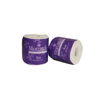 ME400 Monarch ECO 2 Ply 400 sheet Toilet Rolls