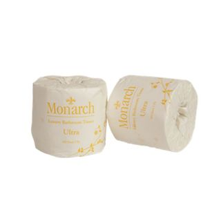 MU400V Monarch ULTRA 2 Ply 400 sheet Toilet Rolls Embossed