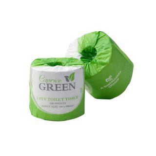 "Caprice 2 ply 400 Sheet ""Green"" Toilet Rolls - 400C"