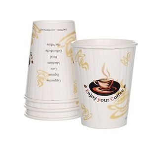 12oz Enjoy Your Coffee Insulated Coffee Cups