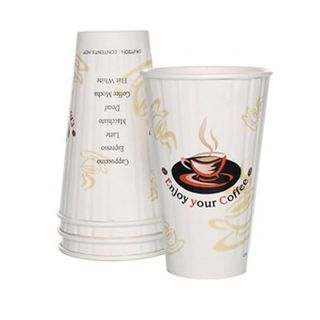 16oz Enjoy Your Coffee Insulated Coffee Cups