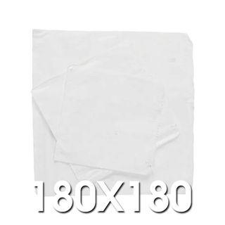 1 Square White Paper Bags 180 x 180