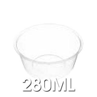 Genfac - C10 280ml Round Plastic Containers