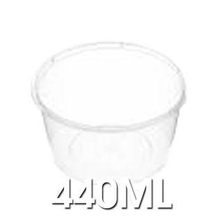 Genfac - C14 440ml Round Plastic Containers