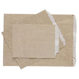 2 Long G.P LINED Paper Bags 240 x 180