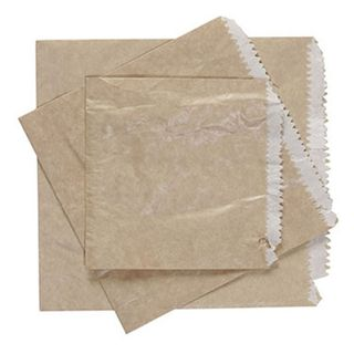 2 Square G.P. LINED Paper Bags 210 x 200