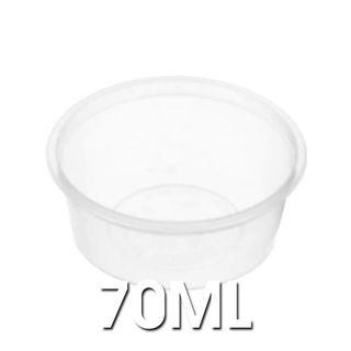 Plastic Round Containers