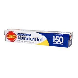 OSO ALL PURPOSE Aluminium Foil 150m x 44cm
