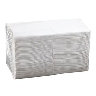 2/Ply Cocktail Napkins - White