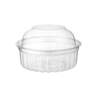 CA-408DL Castaway 8oz Clearview Food Bowl with Domed Lid