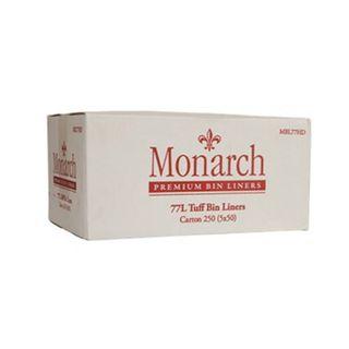 MBL77HD Monarch 77 L Bin Liners - Heavy Duty