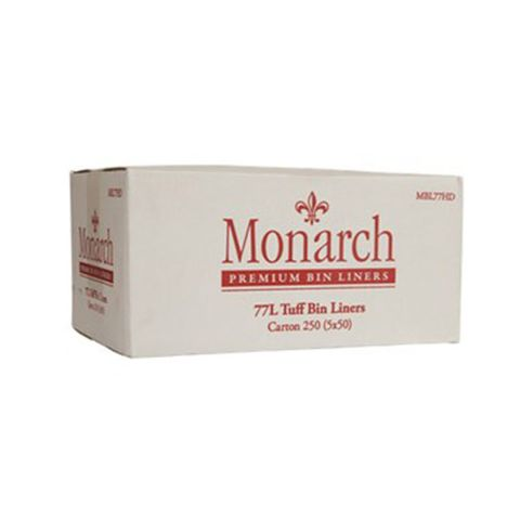 MBL77HD Monarch 77 L Bin Liners - Heavy Duty