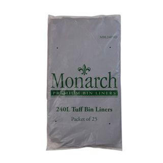 MBL240HD Monarch 240 L Bin Liners - Heavy Duty