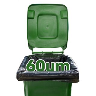240 L Bin Liners - 60um