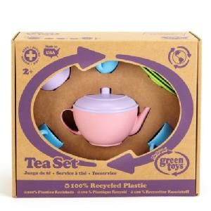 GREEN TOYS TEA SET 15PCE