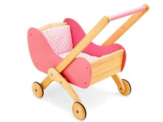 DOLLS BUGGY WOODEN