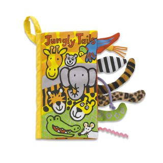 JELLYCAT BOOK JUNGLY TAILS
