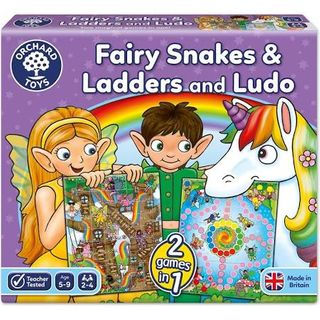 FAIRY SNAKES & LADDERS & LUDO