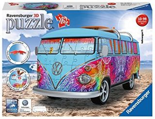 VW COMBI INDIAN SUMMER 3D PUZZLE 162 PCE