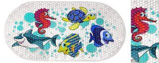 BATH MAT SEA CREATURES