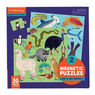 MAGNETIC PUZZLE LAND & SEA