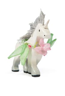 BUDKINS WOODEN UNICORN