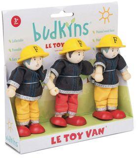 BUDKINS FIREFIGHTERS TRIPLE PACK