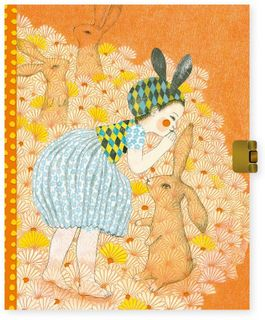 LOVELY PAPER SECRETS NOTEBOOK ELODIE