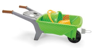 DANTOY GREEN GARDEN WHEELBARROW IN NET