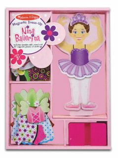 MAGNETIC DRESS UP NINA BALLERINA